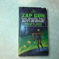 Philip K. DICK / THE ZAP GUN First Edition 1967 pb paperback sci-fi book rare!