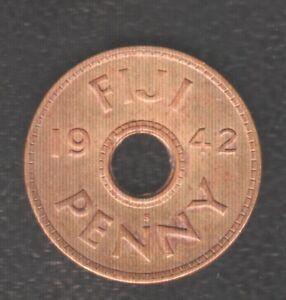 FIJI 1 PENNY 1942