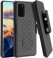SAMSUNG GALAXY S20 - CASE BELT CLIP HOLSTER SWIVEL COVER KICKSTAND ARMOR COMBO