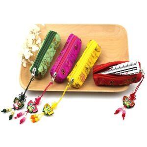 Portable Mini Lipstick Zipper Storage Bag Lipstick Jewelry Protect Case Pocket