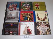 Christmas Choir Baroque Fred Waring Scott Hamilton Holiday Lot 9 CD -0717CD140