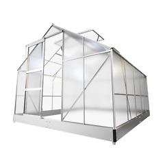 Gewächshaus Treibhaus Aluminium Fundament Alu Tomatenhaus Garten Pflanzenhaus