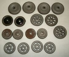 Replacement Metal Tire Wheel Lot for Vintage Cast Iron Toy Car Arcade Hubley
