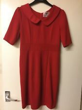 Red Stretch Vintage Style Dress