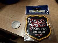 Sampson Walking Stick Badge UNION FLAG GREAT BRITAIN UK New Stocknagel