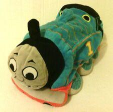 "Thomas the Train Tank Engine Plush 16"" Stuffed Pillow Toy Microbead 2013 Gullane"