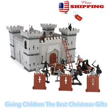 US Knights Catapult Castle Medieval Toy Soldiers Figures Accessories Xmas Gifts