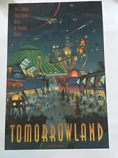 """Tommorowland Poster 27""""x36"""" paper - Art of Disney"""