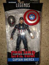 Marvel Legends Avengers Civil War MCU Captain America New Unopened Ant Man BAF