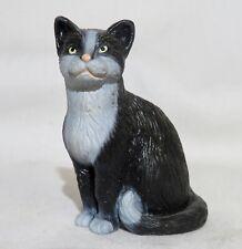 """Schleich Black & White domestic Cat 1997 Figure 1 7/8"""" x 1 1/4"""""""