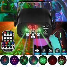 RGB UV Muster Lichteffekt LED Laser DJ Projektor Disco Party Bühnenbeleuchtung