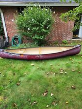 10 ft. old town katahdin canoe red in very good condition