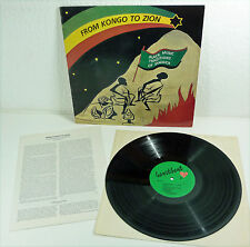 "FROM KONGO TO ZION - Reggae FOLK LP ""Black Music Traditions of Jamaica"""