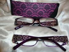 Reading Glasses-Purple gem  3.00