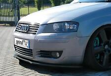 Frontspoiler Lippe Schwert Cup Spoiler aus ABS für Audi A3 8P Bj. 2003-2008