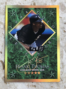 1994 Gold Leaf Stars Frank Thomas /10000