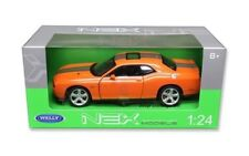 Dodge Challenger 2013 SRT Coupe 1:24 Scale Diecast Model Car 24049 Orange