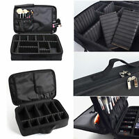 Women Hot Pro Large Makeup Bag Cosmetic Case Storage Handle Organizer Travel Kit