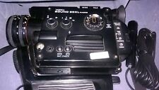 YASHICA Super 8 MM Cam SOUND 50 XL MACRO Complete w/ 2 Mikes and Original Case.