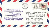 Space Shuttle Orbiter landing Evaluation Test Flight, Edwards 10.11.80