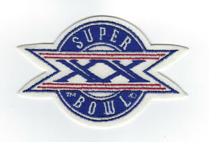 1985 Super Bowl XX patch Chicago Bears New England Patriots Richard Dent SB 20