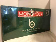 HASBRO W.R BERKLEY CORP. FINANCIAL SERVICE INSURANCE BUSINESS MONOPOLY 40TH ANNV