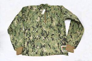 New NWU Type III Inclement Weather Combat Shirt US NAVY SEAL DEVGRU AOR2