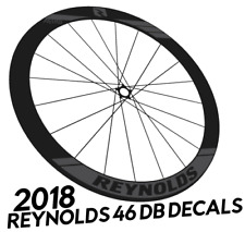 REYNOLDS 46 AERO Wheel Decals Stickers for 46mm bike bicycle road wheels
