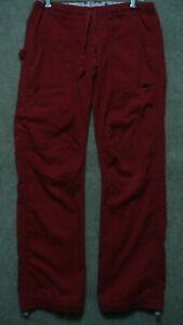 Koi Kathy Peterson Women's Nurse Scrub Cargo Pants Lindsey XS Style 701P Red