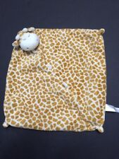 Angel Dear Tan Sleepy Giraffe Security Blanket Lovey Sleeping Cream Velour Baby