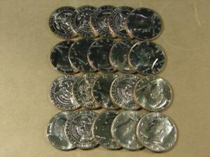 1987-P Kennedy Half Dollar Uncirculated Roll Of 20 Coins