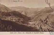 Veduta del S. Eremo e Ven. Archicenobio di Camaldoli f.p.