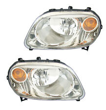 Headlights Front Lamps Pair Set for 06-11 Chevy HHR (w/o Pro-B2E) Left & Right