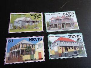 NEVIS 1994 SG 836-839 ARCHITECTURE MNH