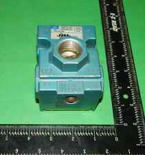 "Mac Valves 56C-52-RA Air Valve 150PSI 3/4""(.75)Inch & 3/8""(.375)Inch NPT 56C52RA"