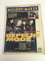 Melody Maker - Depeche Mode - Music Paper - March 10 1990 Plus Gig Guide Adverts