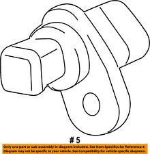 GM OEM-Engine Camshaft Cam Position Sensor 25195556