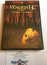 Venerdi 13 parte V dvd il terrore continua
