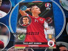 PANINI ADRENALYN EURO 2016. RARE ERROR CARD TAULANT XHAKA