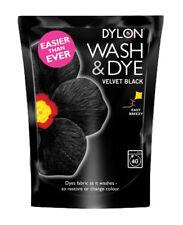 DYLON Wash Dye Fabric Machine 350g - Velvet Black