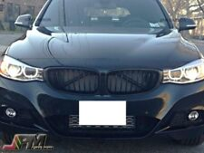 Matte Black Front Grill Grille For 2014-2015 BMW F34 3-Series Gran Turismo