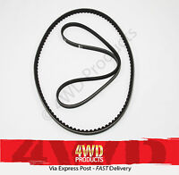 Fan/Drive Belt SET for Mitsubishi Triton MN 2.5TDi 4D56T (09-15)