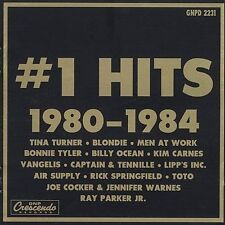 Various Artists : Number One Hits: 1980-1984 CD