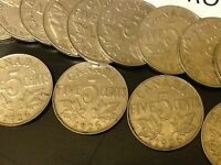 1926 N6 Canada Nickel KEY DATE coin - Low Mintage - One coin from old roll