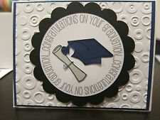 """Stampin Up """"Congratulations on Your Graduation"""" Class of 2017 Handmade Card"""