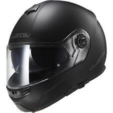 LS2 FF325 Strobe Matt Black Modular flip up Motorcycle/Motorbike helmet + Gift