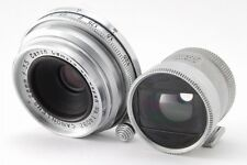 EXC+++++ Canon 28mm f/3.5 M39 LTM Lens & Finder LEICA SCREW MOUNT From JP #Z329
