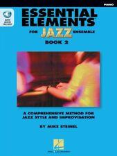 Essential Elements for Jazz Ensemble Book 2 Piano Instrumental Jazz 000877509