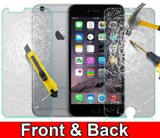 Anti-Scratch Front and Back Tempered Glass Screen protector for IPHONE 6S