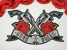 Guns N Roses Iron on patch, Gun patch,  Large patch